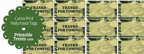 printable army name tags free printable camo tags printable treats com