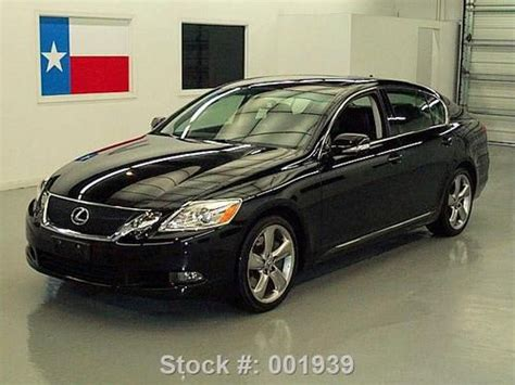 how does cars work 2008 lexus is navigation system sell used 2008 lexus gs460 climate seats sunroof nav rear cam 41k texas direct auto in stafford