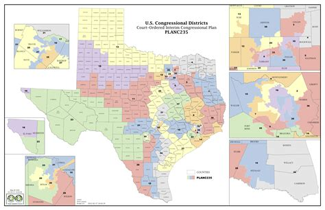 texas legislative districts map court delivers election maps for texas house congress the texas tribune