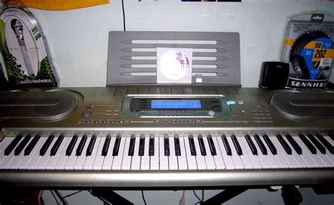Alat Musik Keyboard Casio musik mania keyboard casio wk 3300