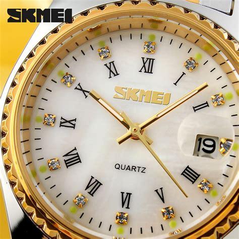 Skmei Jam Tangan Analog Wanita 9098cs Putih skmei jam tangan analog wanita 9098cs golden jakartanotebook