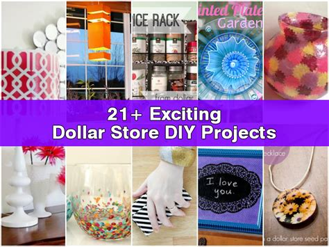 diy projects 21 exciting dollar store diy projects