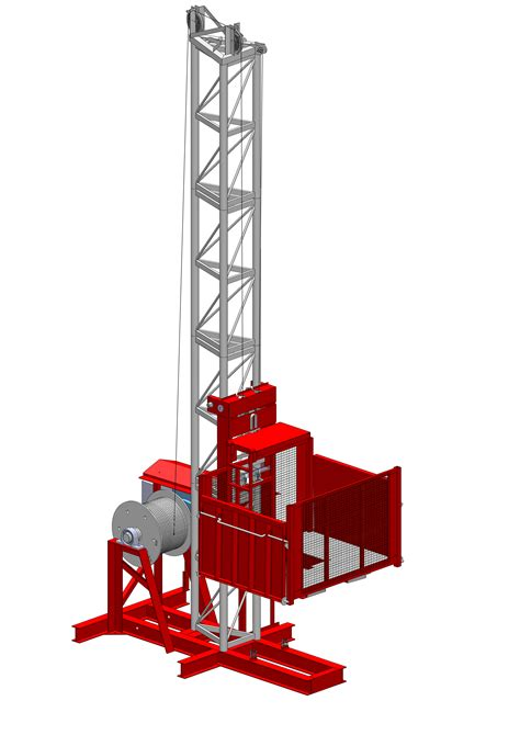 wickham gr1000 2 material hoist is a highly efficient