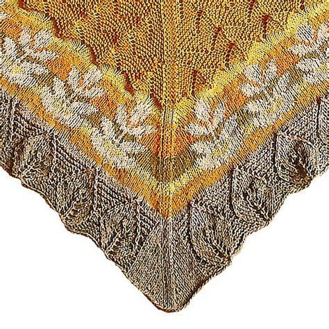 leaf pattern shawl knitting 55 best knit leaves images on pinterest