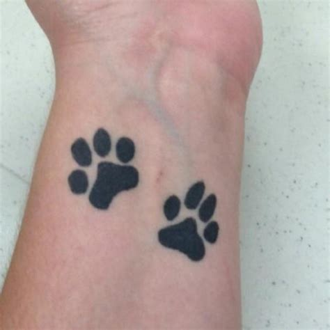 paw print tattoos on wrist 35 awesome wrist paw tattoos