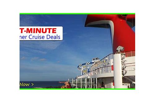 celebrity cruise lines last minute deals