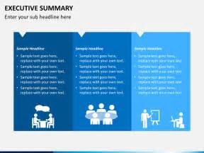 Executive Summary Powerpoint Template Template Design