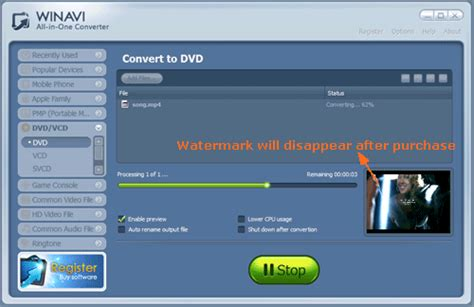 converter dvd to mp4 convert mp4 to dvd with winavi all in one converter