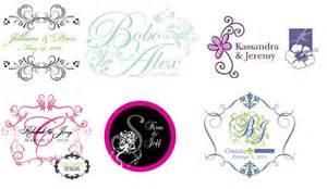 Wedding logo design wedding logo samples