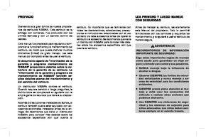 2017 Nissan Sentra Manual Del Propietario In Spanish