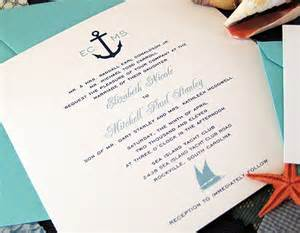 cruise wedding invitation wedding