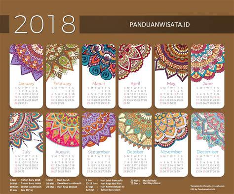 Kalender 2018 Libur Nasional Libur Nasional 2018 Cuti Bersama 2018 Lengkap Dengan