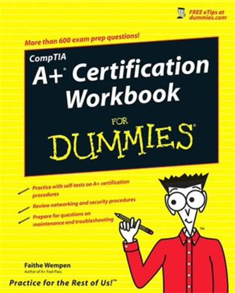 Help Desk Certification Comptia by For Dummies Pdf Comptia A Certification All In