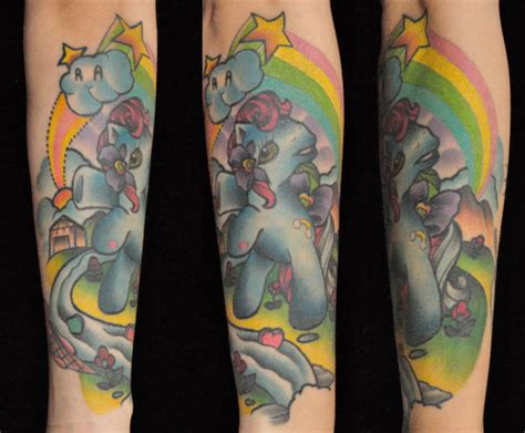 my little pony tattoos tuesday no 77 senses lost