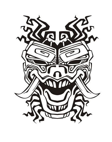 aztec mask template aztec mask template mask aztec masks coloring pages murderthestout