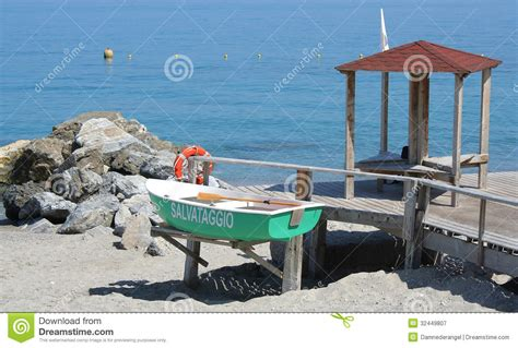 lifeguard boat clipart lifeguard boat and station royalty free stock photography