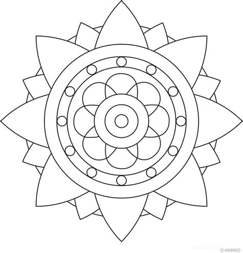 Best 25 Easy Mandala Designs Ideas On Pinterest Easy Mandalas To Color Easy