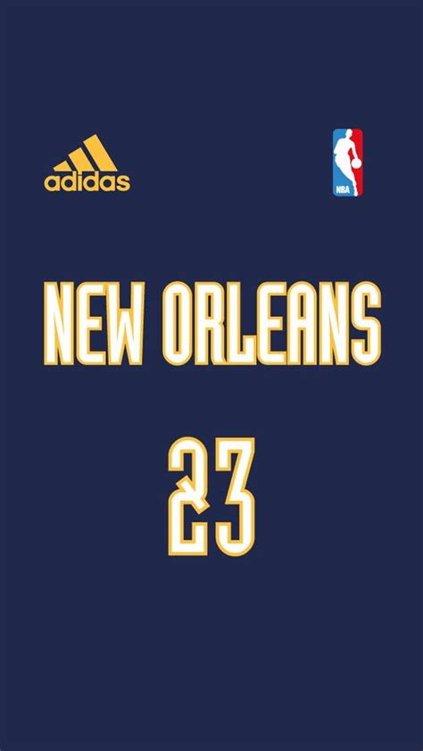 wallpaper iphone jersey new orleans pelicans nba jersey project iphone 5 5s