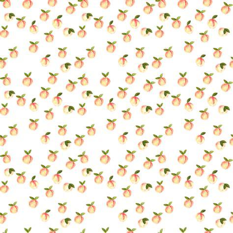(micro print) watercolor peaches fabric