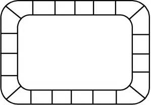 Empty Monopoly Board Template by Free Ticket Template Printable Clipart Best