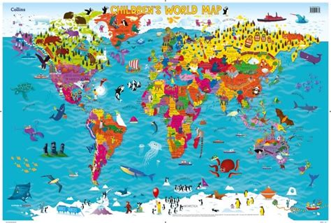 world maps for kids com 37 eye catching world map posters you should hang on your