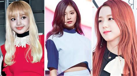 blackpink no makeup blackpink and twice without makeup vs with makeup 2017 hd