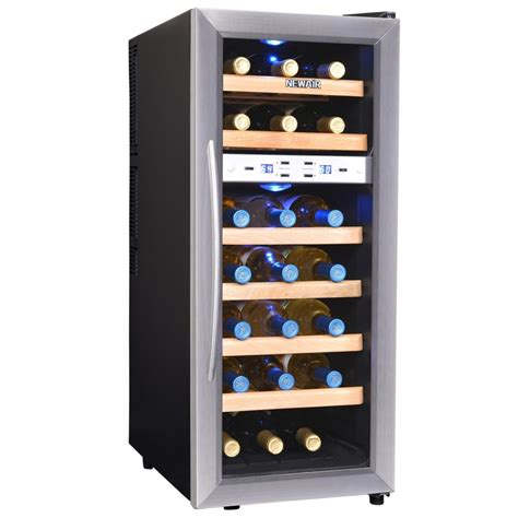 best thermoelectric wine coolers newair aw 211ed streamline 21 bottle dual zone