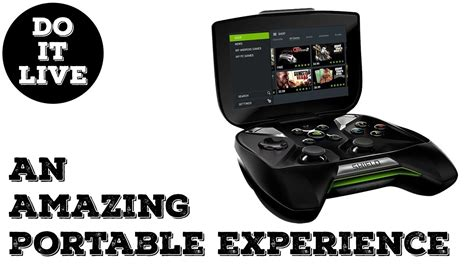 nvidia portable console nvidia shield portable review a sleeper handheld console