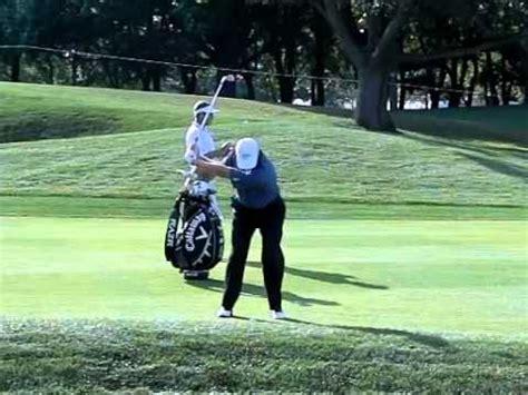 ernie els swing speed ernie els golf swing youtube