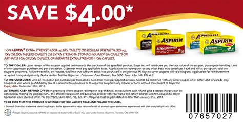 aspirin walmart asprin for just 76 162 get aspirin 4 printable coupons sale on aspirin at