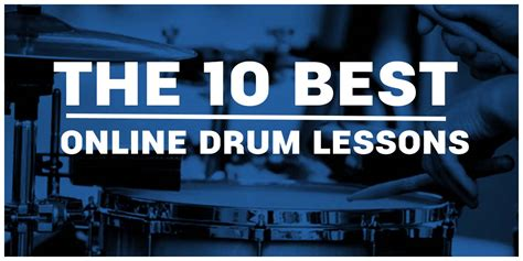 drum tutorial online best online drum lessons for beginners our top 10 reviews