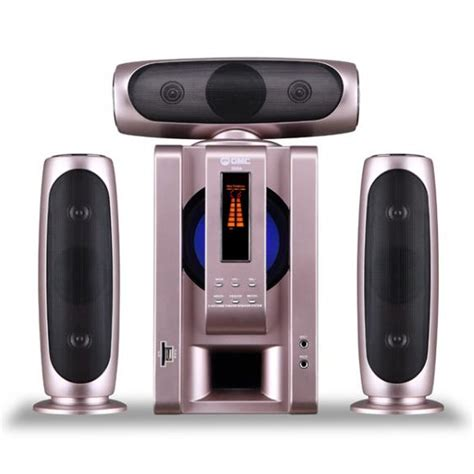 Speaker Aktif Gmc Karaoke gmc multimedia aktif speaker 885a bluetooth gold elevenia