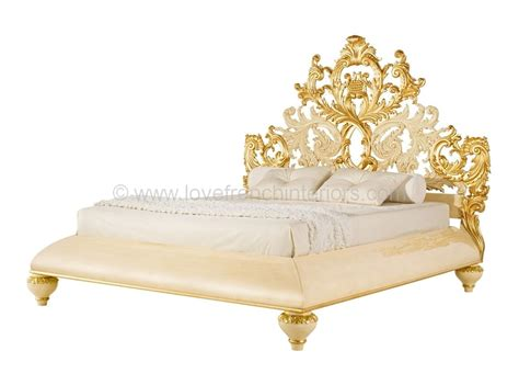 Bedroom Vanity Tables venezia bed with carved baroque headboard