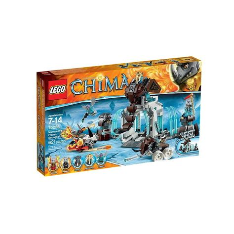 Lego Chima Storage Box lego legends of chima mammoth s frozen stronghold building set new in box 70226 hellotoys net