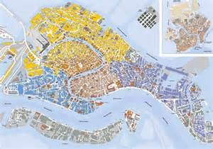 Venice Map Italy by Detailed Map Of Venice City Venice City Detailed Map