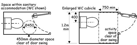 Water Closet Dimensions Minimum by Water Closet Cubicle Dimensions Crafts