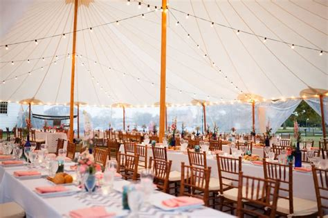 outdoor tent wedding reception nj press coverage sperry tents new jersey