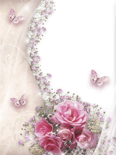 Soft Transparant Flower Butterfly Cover Casing Iphone womens photo frame roses png 960 215 1280 frames stationary decoupage and cards