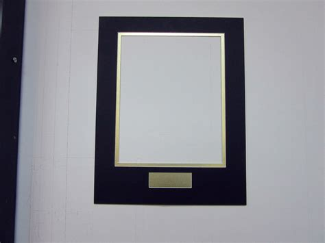 10 x 14 picture frame with mat picture frame mat 11x14 for 8x10 photo black with