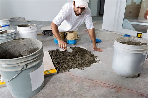 Can I Use Cement To Lay Floor Tiles by The 4 Best Subfloors To Use For Laying Ceramic Tile