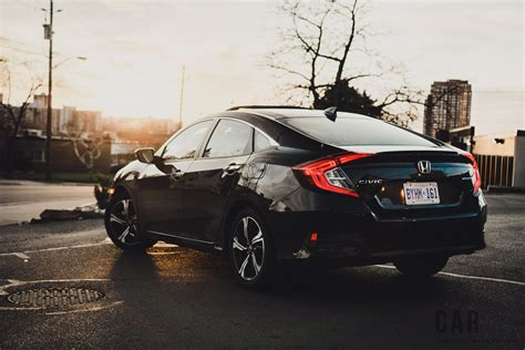 honda civic 2016 black review 2016 honda civic touring canadian auto review