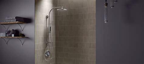 How Should Shower Water Be by Hydrorail 174 Shower Columns Bathroom Kohler