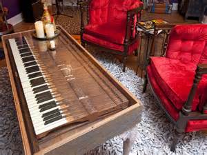 Upcycled Piano Keys - 25 ways to upcycle your old stuff easy ideas for organizing and cleaning your home hgtv