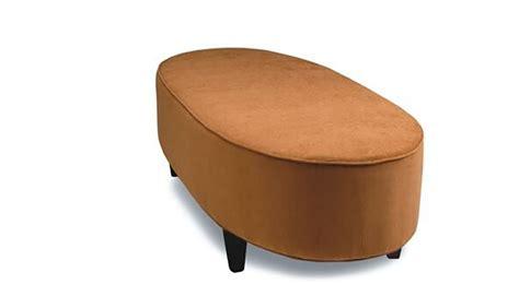 Oval Leather Ottoman Oval Ottoman Sofa So