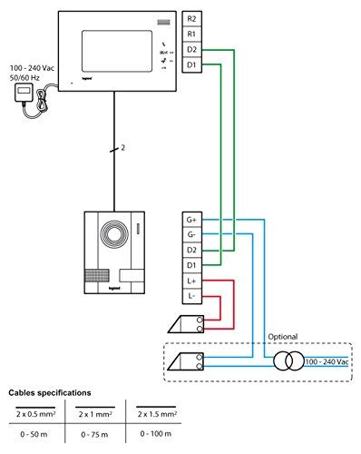 legrand intercom wiring diagram 31 wiring diagram images