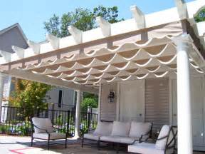 Deck Tarp Awning Pergola Construction Patio Covers Trellis Structure