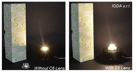 c series cob lenses for light diffuser - Led Len Test