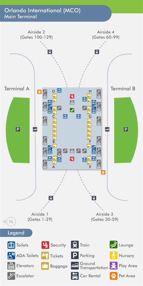 mco map travelnerd terminal