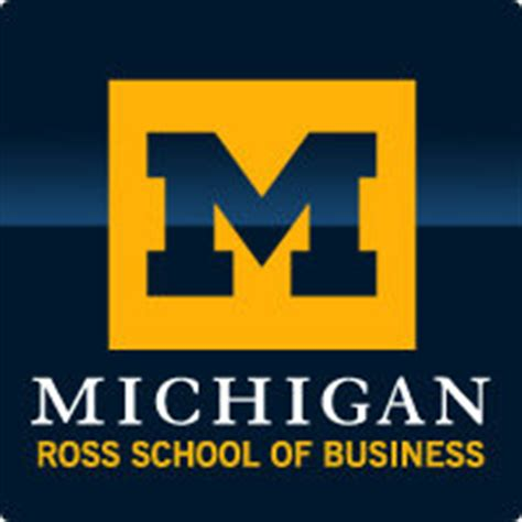 Of Michigan Mba Application Deadlines by Michigan Ross School Of Business 2012 2013 Application