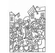 Sinterklaas Kleurplaten  En Zwarte Pieten